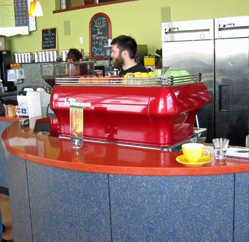 Joe Momma's Coffee - La Marzocco